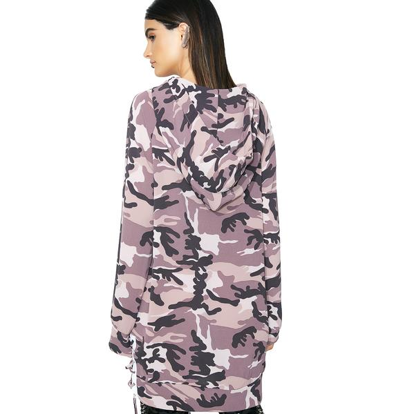 Hide Behind Me Hoodie Dress