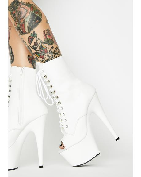 Pure Players Club Adore Platform Heels