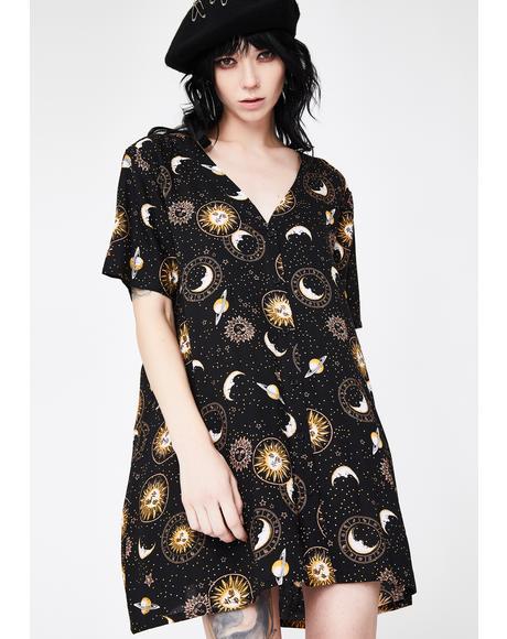 Crosena Babydoll Dress