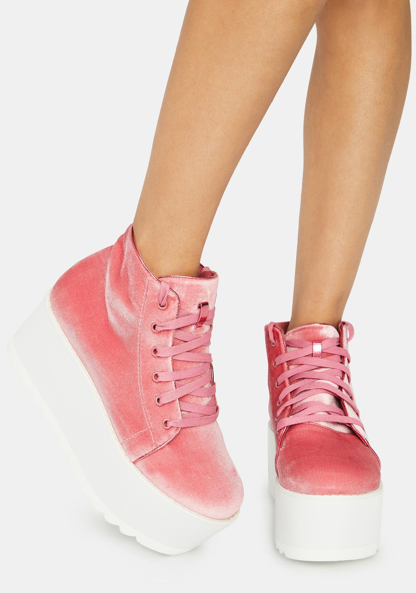 Lemon Drop by Privileged Rose Barletta Platform Sneaker