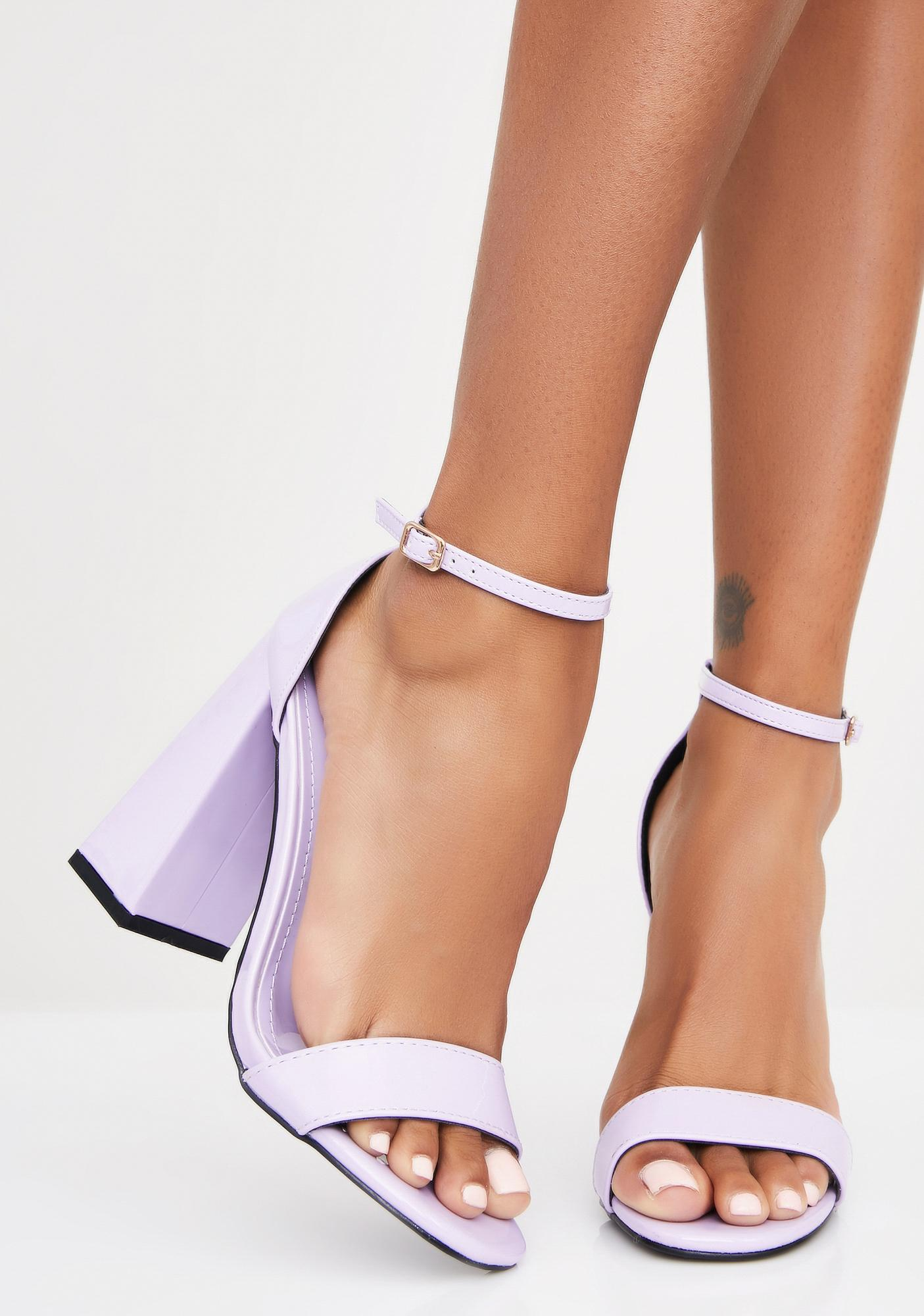 Pretty N' Posh Block Heels