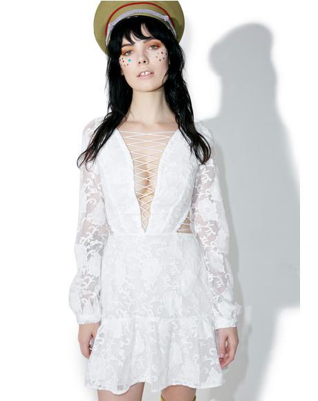 Pure Jolene Lace-Up Dress