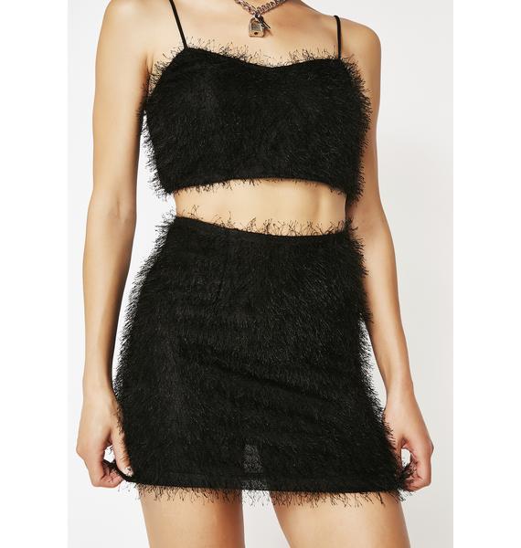 Motel Weaver High Waist Skirt