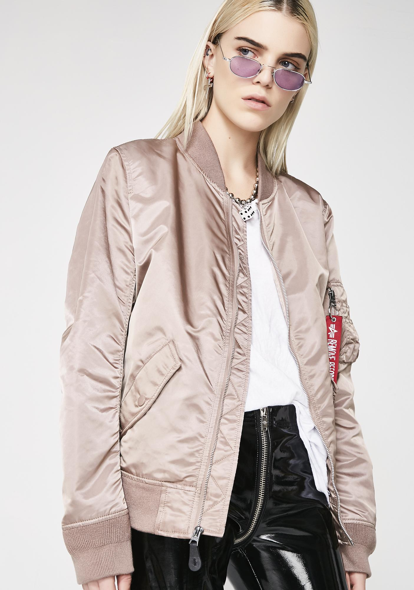 Alpha Industries L-2B Laced Flight Jacket
