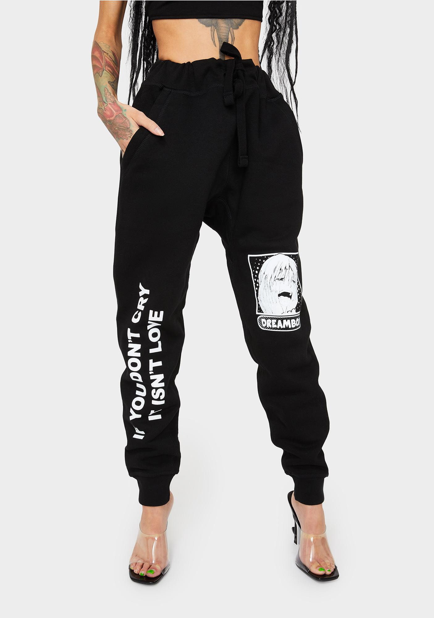 Dreamboy Don't Cry Jogger Sweatpants