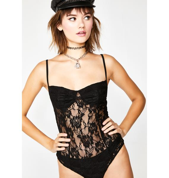 Motel Black Rose Lanti Bodice