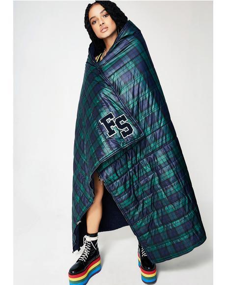 FENTY PUMA By Rihanna Quilted Sleeping Bag Shawl