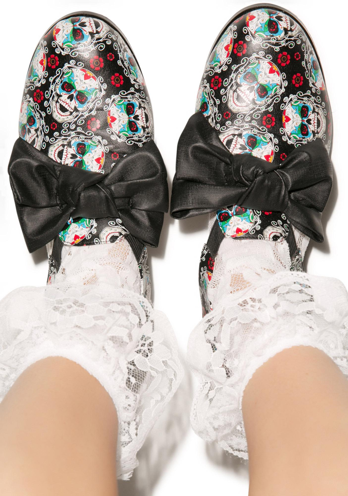 Iron Fist Sugar High Oxford Flats