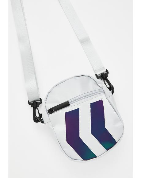 New Direction Reflective Crossbody Bag