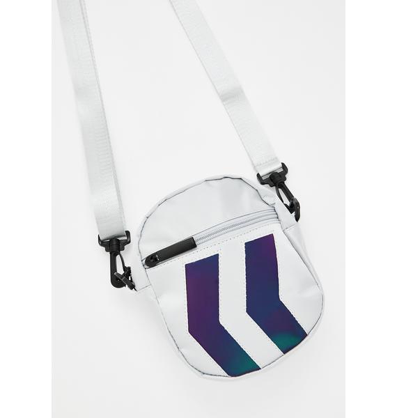 New Direction Reflective Crossbody Bag