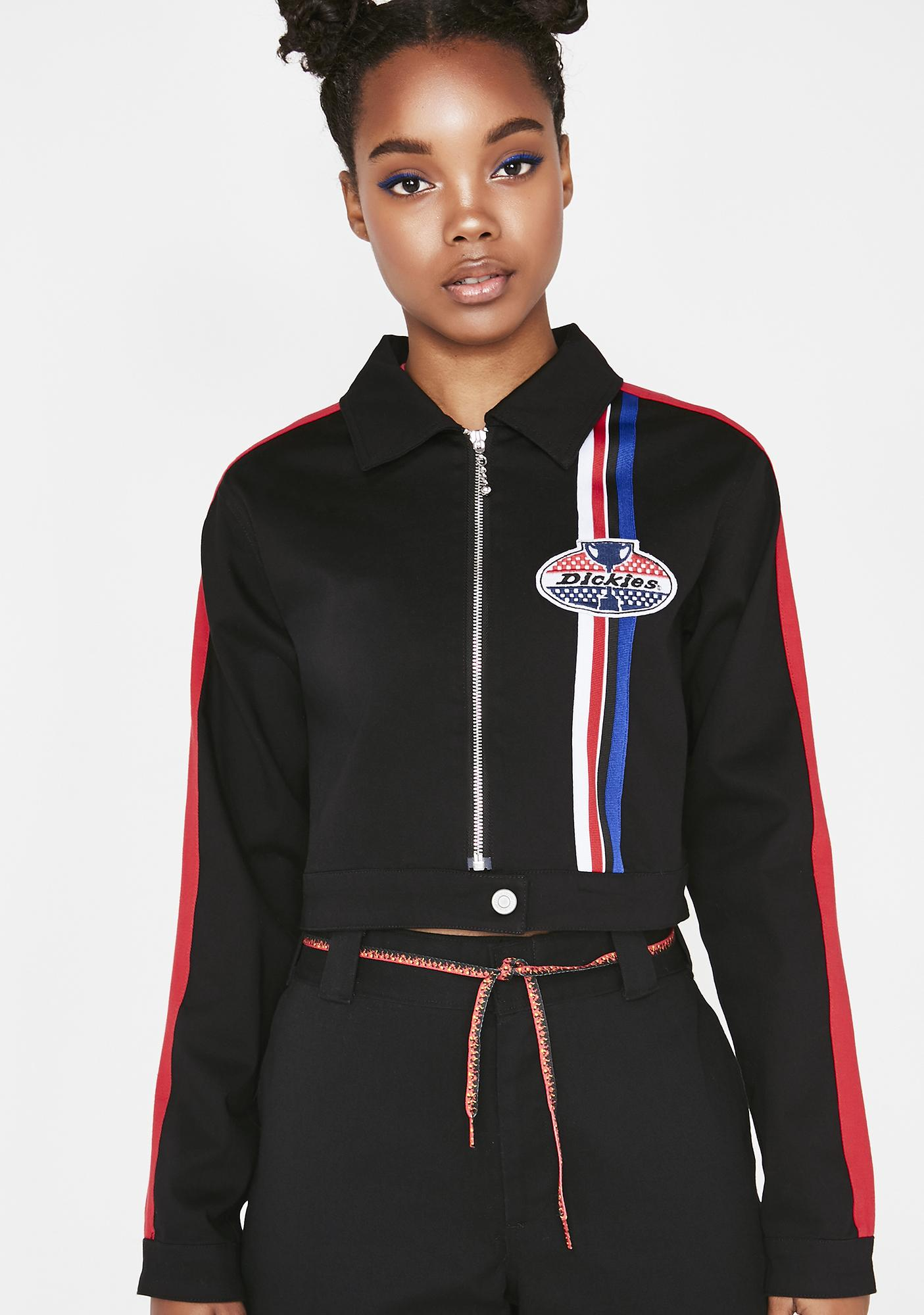 Dickies Girl Racing Cropped Jacket