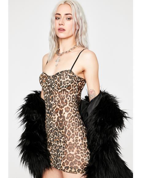 Swift Moves Leopard Dress