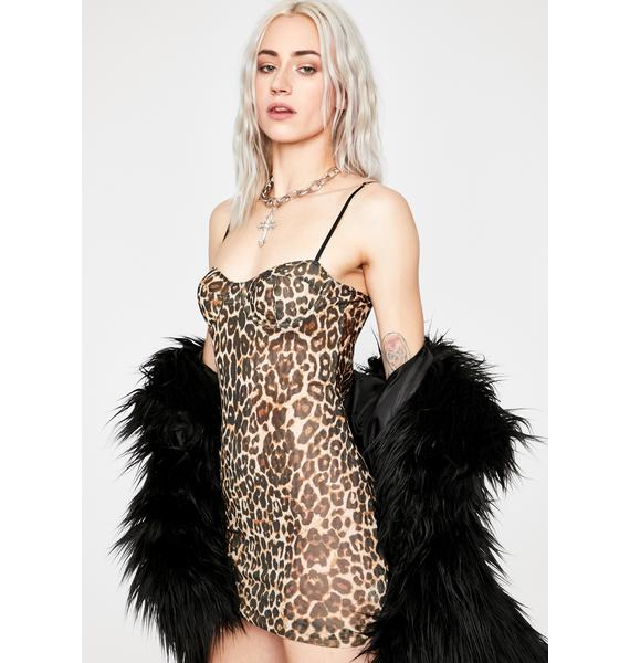 Swift Moves Leopard Dress