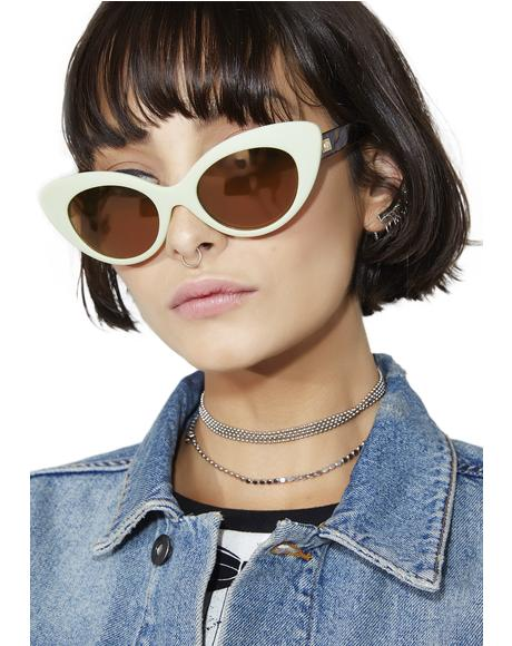 The Wild Gift Avocado Sunglasses