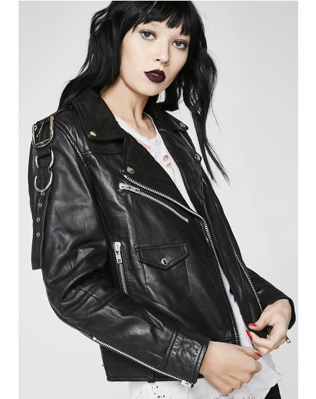 Deadbeat Leather Jacket