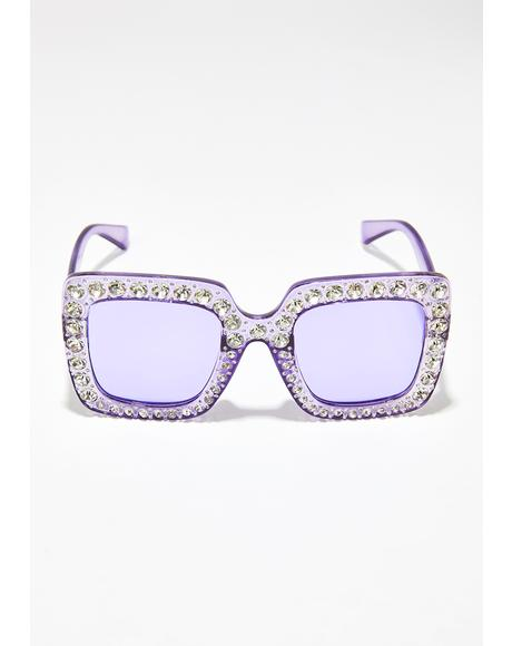 Sweet Tart Oversize Sunglasses