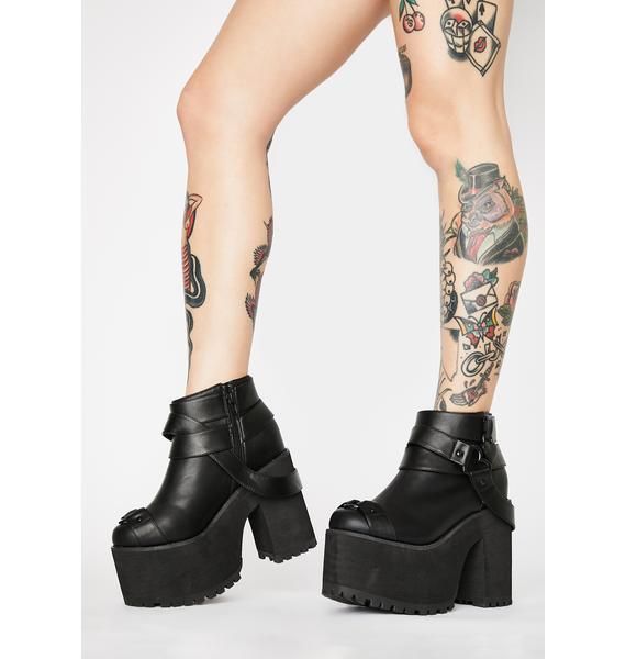 Y.R.U. Cherish Heart Platform Boots