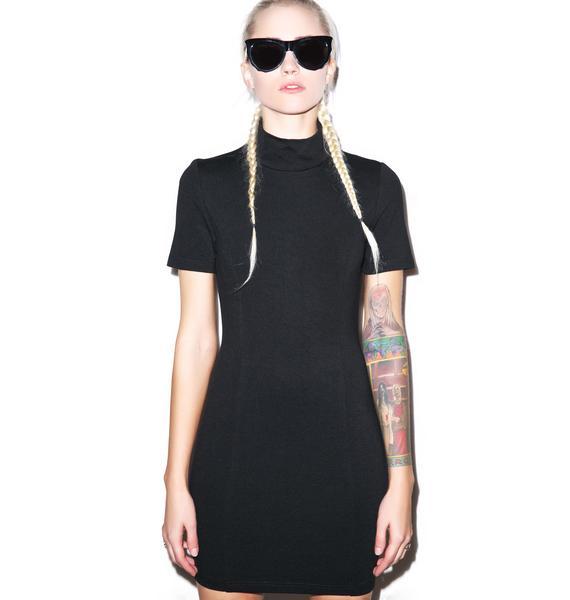 BLQ BASIQ Mini Open Back Dress