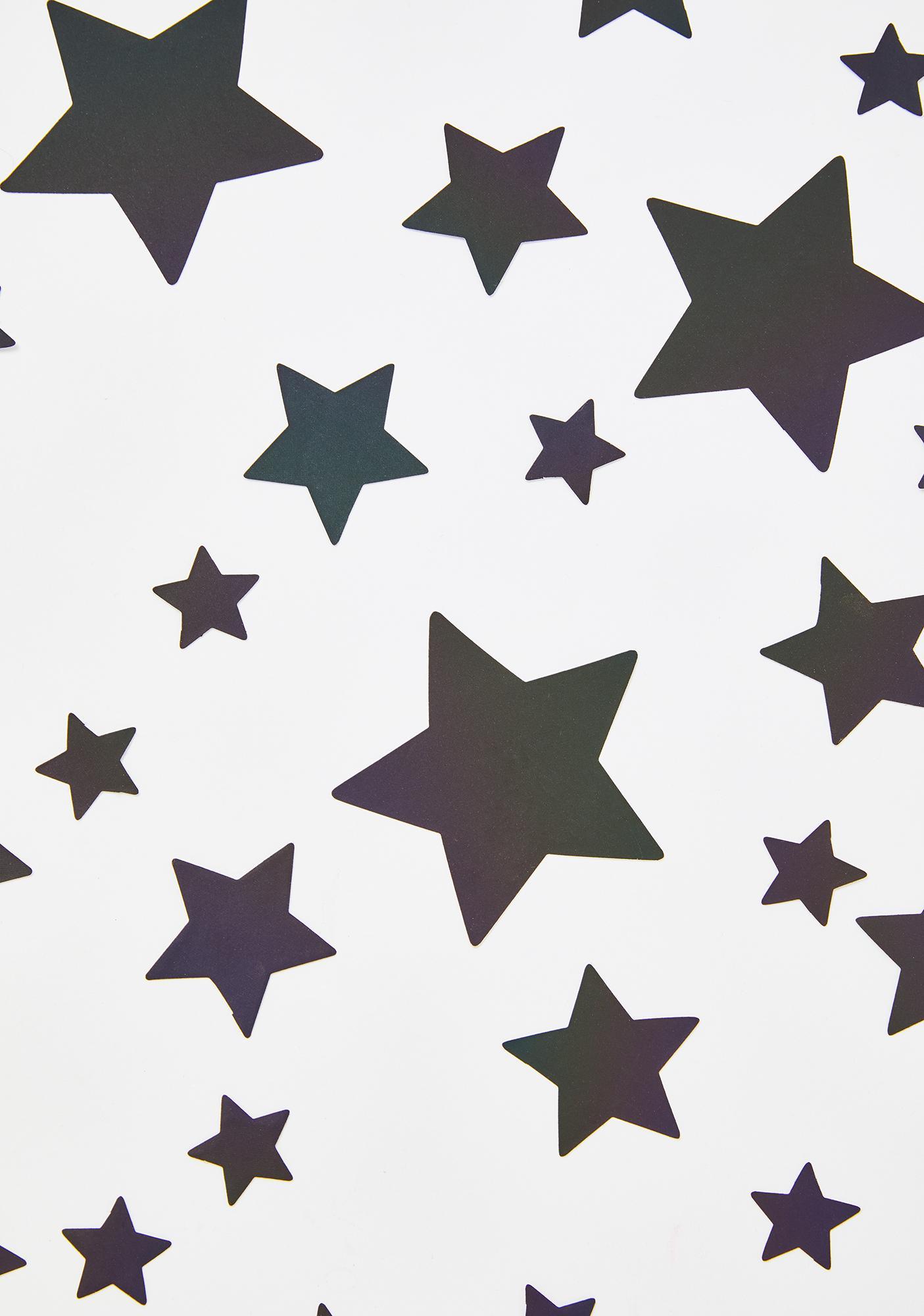 Neva Nude Rainbow Reflective 35 Star Bundle Pasties