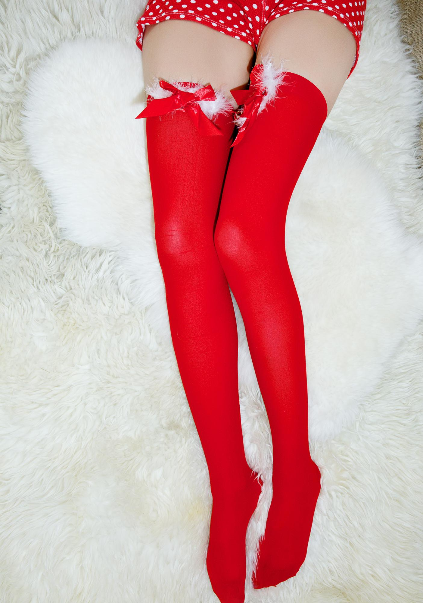 Jingle Belle Thigh-Highs