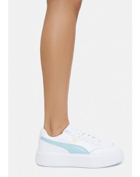 Blue Glow Oslo Maja Women's Sneakers