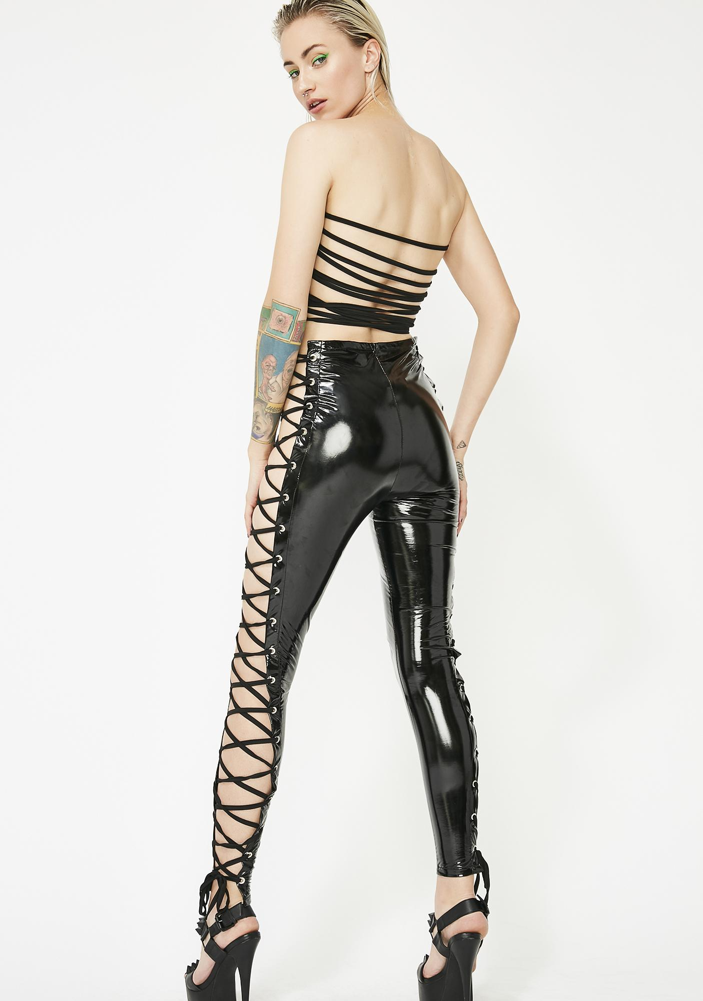 d097e18bb6 Vinyl lace up jumpsuit dolls kill jpg 1405x2000 Vinyl jumpsuit