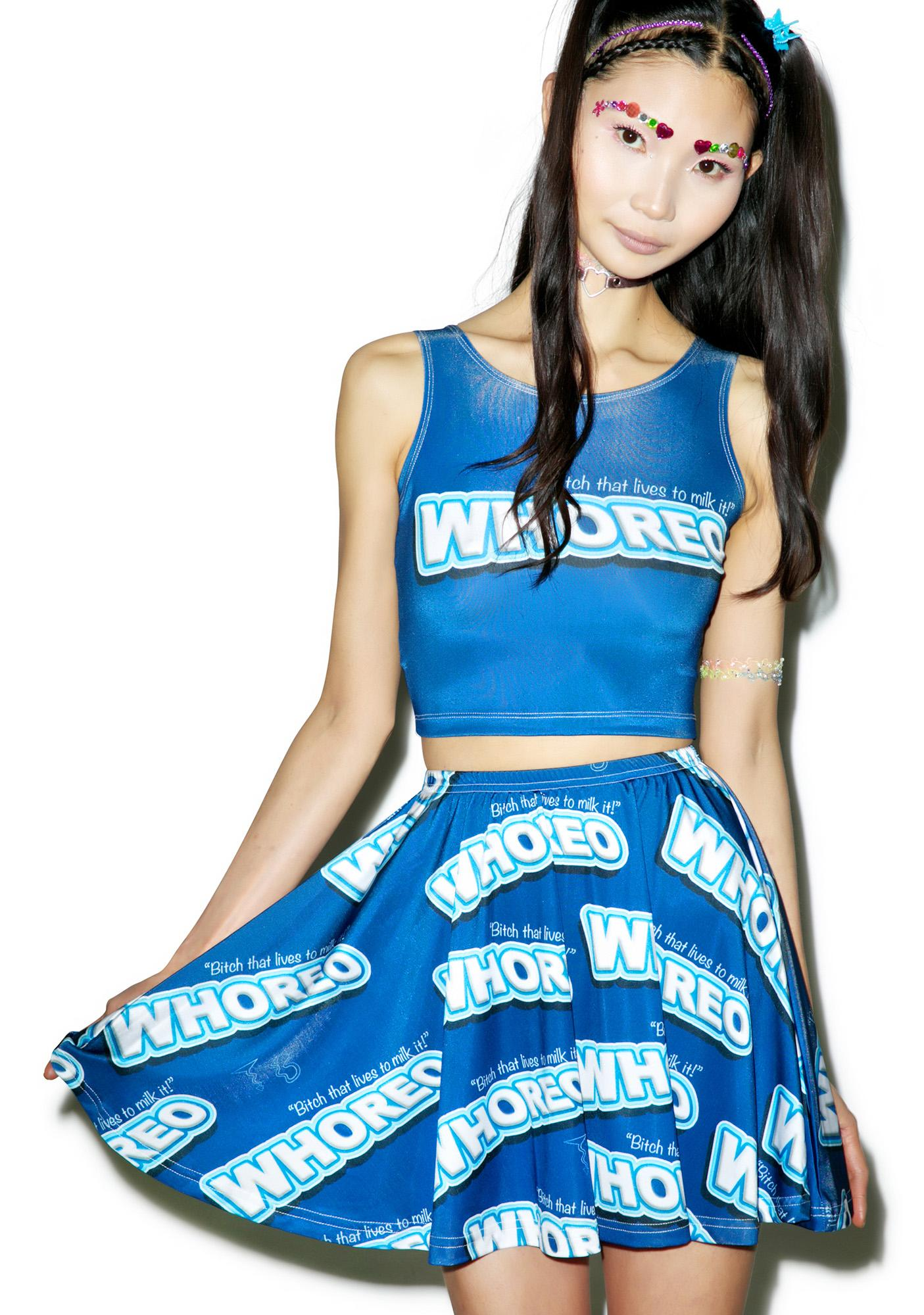 Twisted Bitches Whoreo Skater Skirt