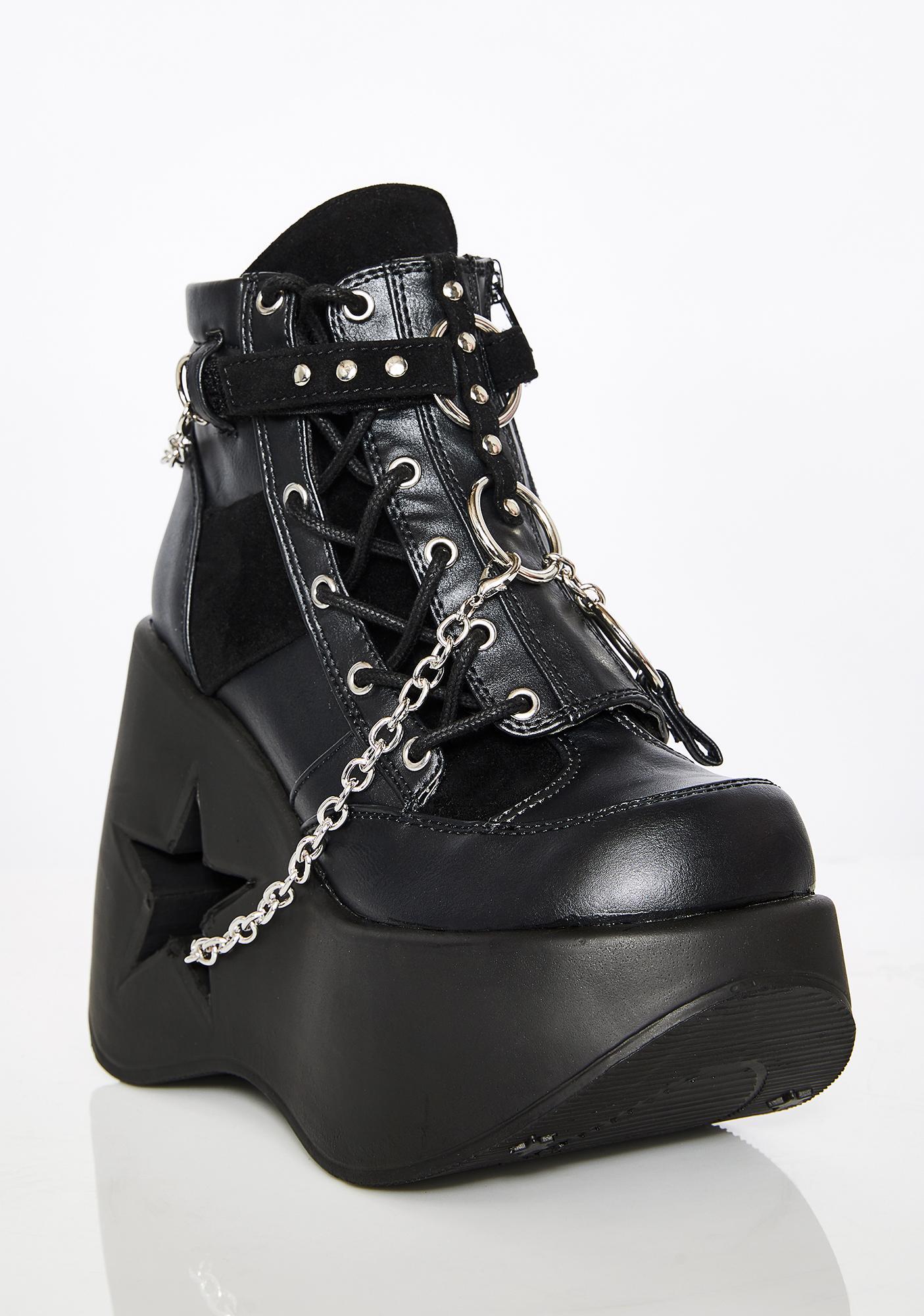 Demonia Dynamo Platform Boots