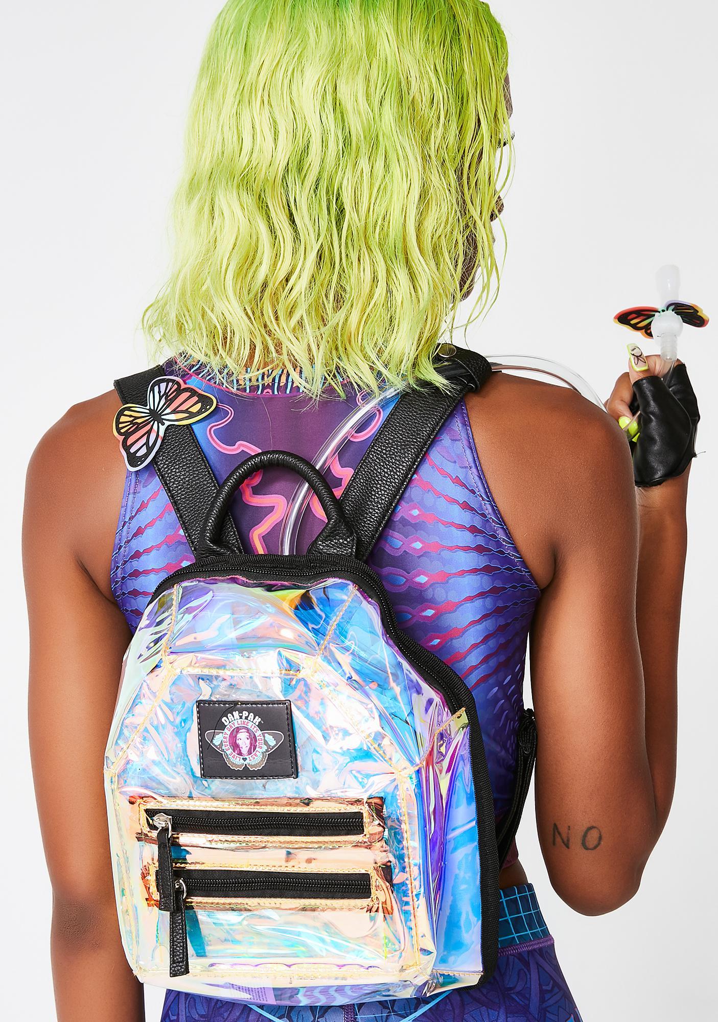 Dan-Pak Holographic Mini Hydration Backpack