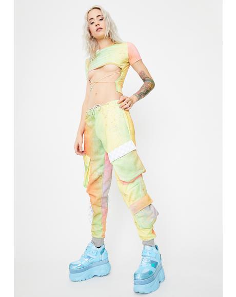 Palette Tie Dye Cargo Pants