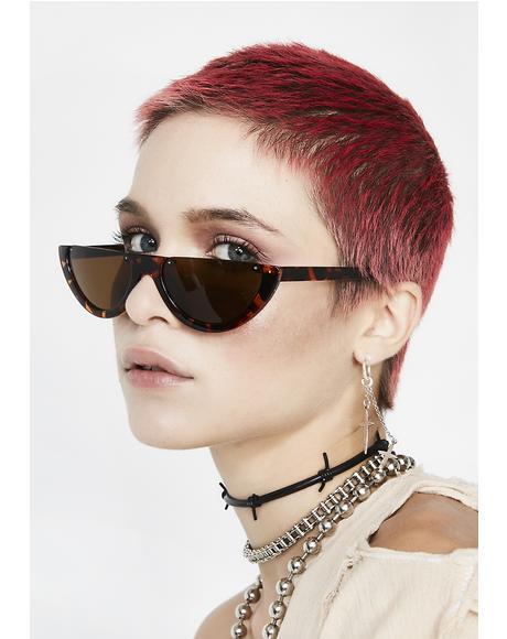 Tortoiseshell Give Them Shade Sunglasses