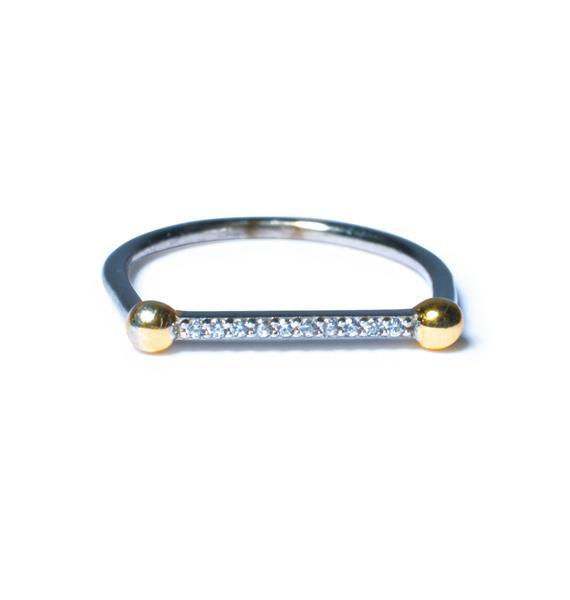 Luv AJ The Single Barbell Ring