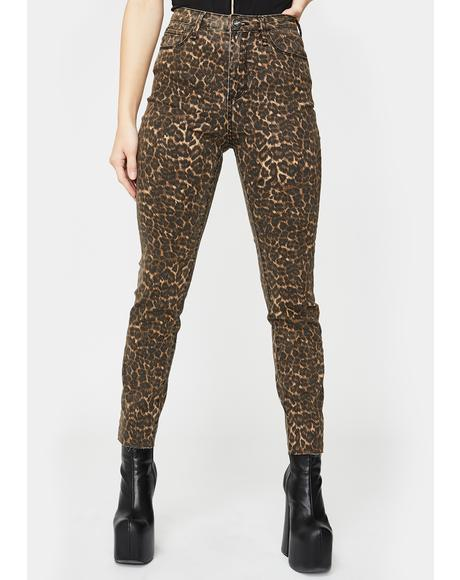 Feline Skinny Jeans