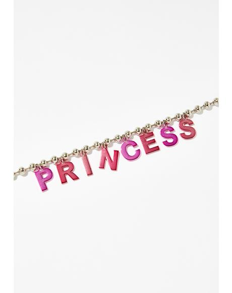 Perfect Princess Ball Chain Choker
