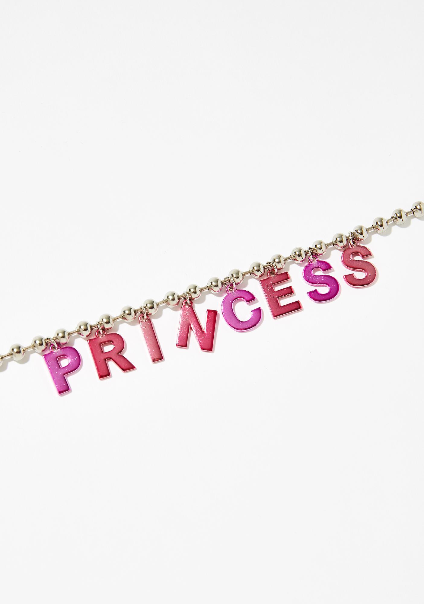 Perfect Princess Ball Chain Choker