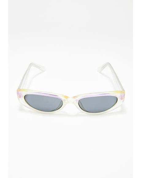 Future Daydreamin' Iridescent Sunglasses