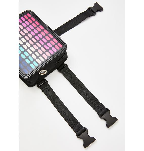 Club Exx Speaker Freaker Light Up Fanny Pack