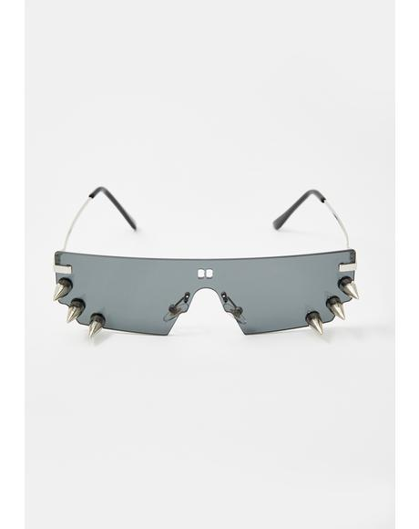 Always Hardcore Spiked Sunglasses