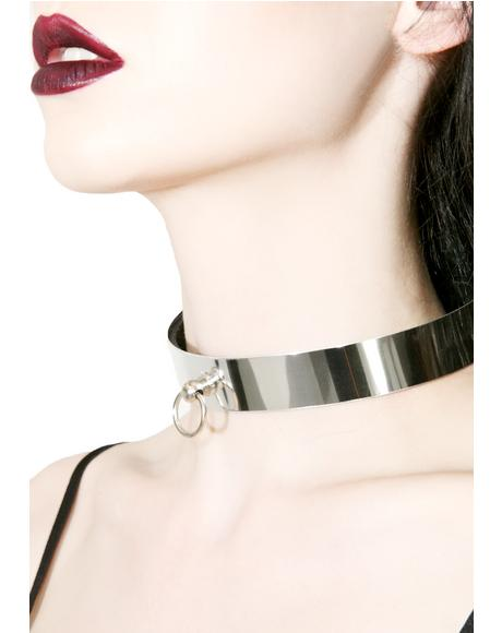 Sithandra O-Ring Metal Choker