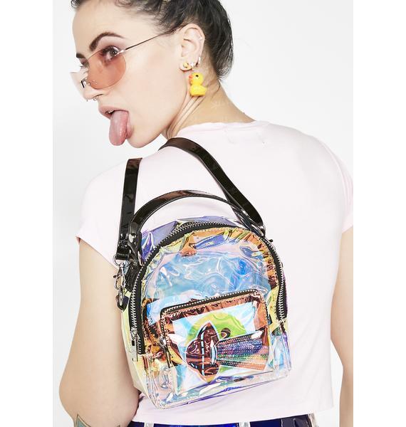 Current Mood Supernova Freak Clear Backpack