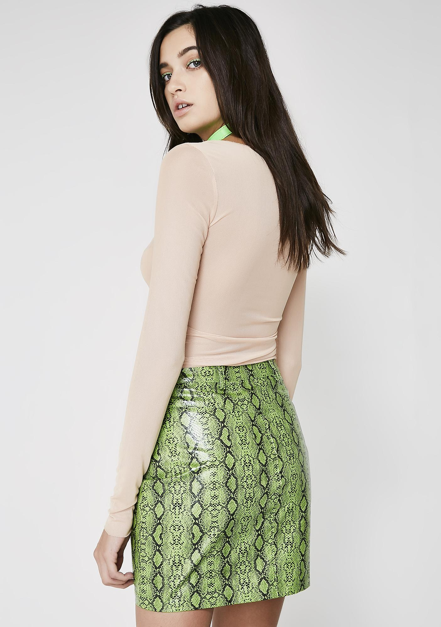 I AM GIA Slither Jagger Skirt
