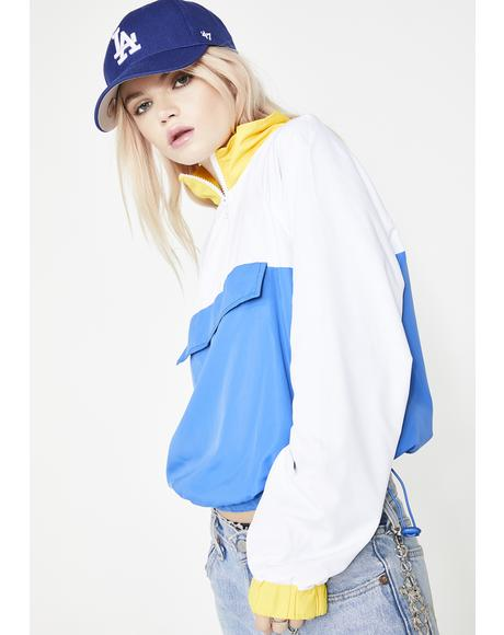 Skysurfin' Colorblock Windbreaker