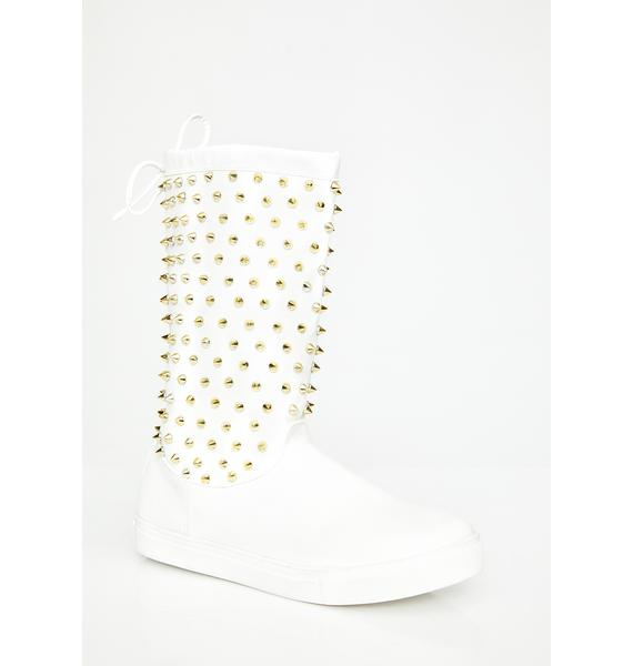 Icy Reigning Bish Rain Boots