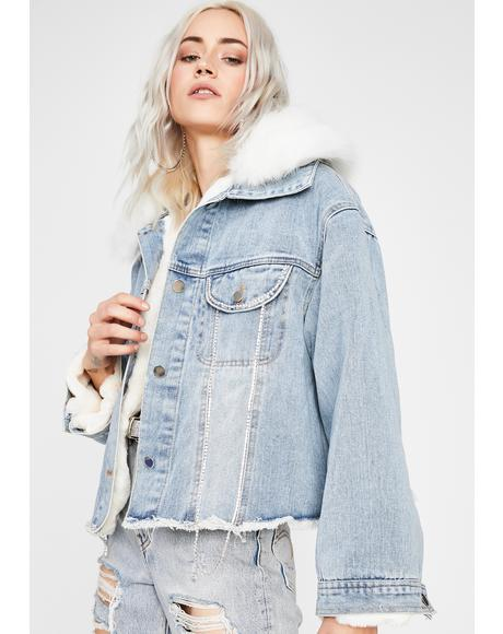 Tundra Temptress Denim Jacket