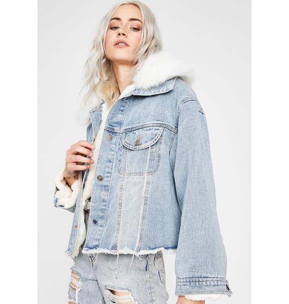 Tundra Temptress Denim Jacket