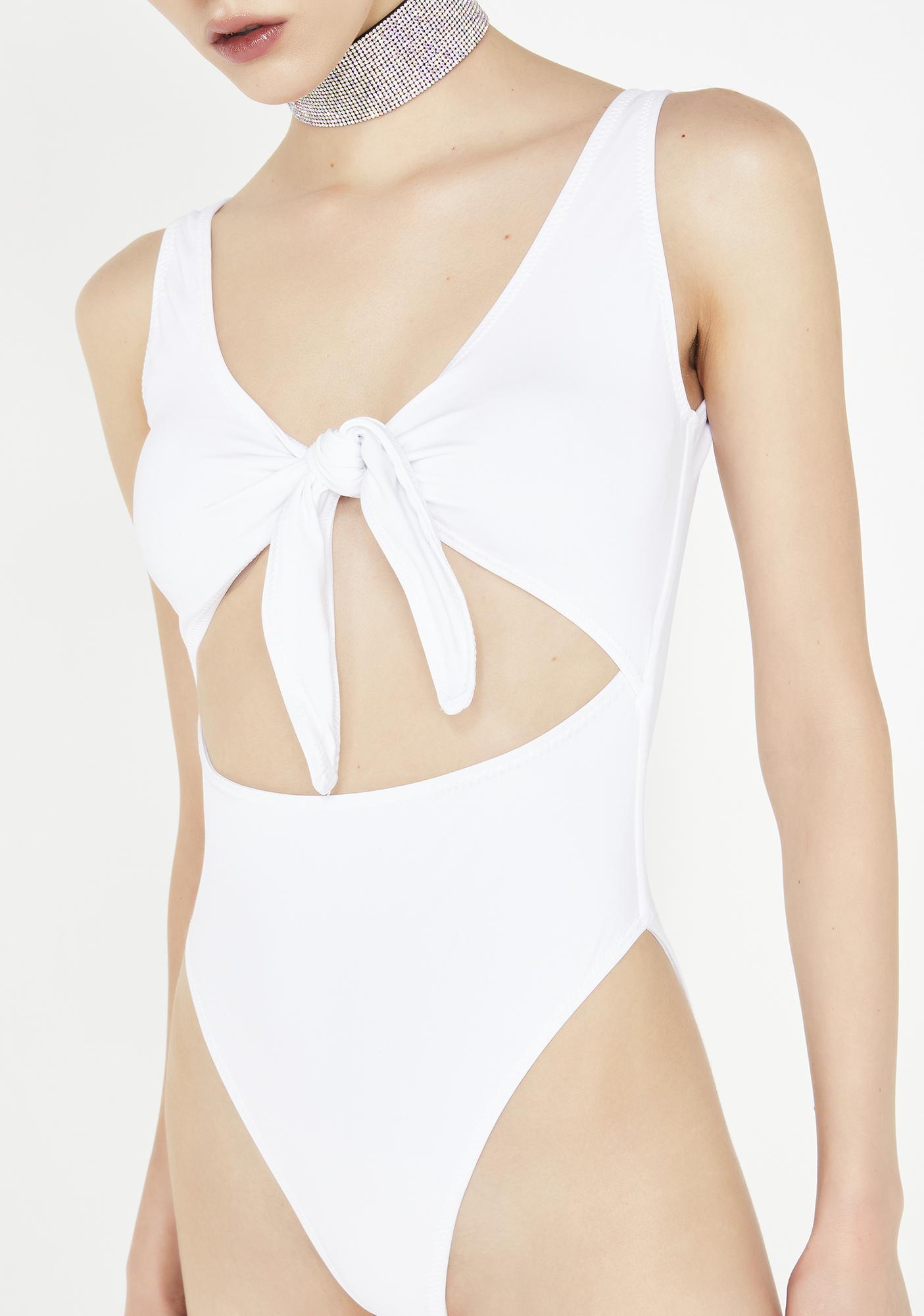 Kiki Riki Romance Tyrant Cut Out Bodysuit