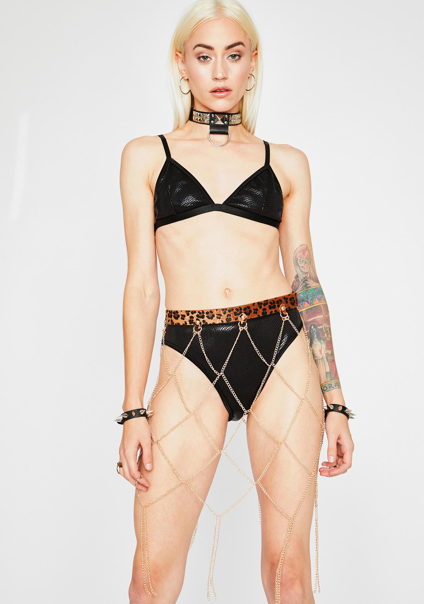 Fierce Chained Chaos Waist Belt