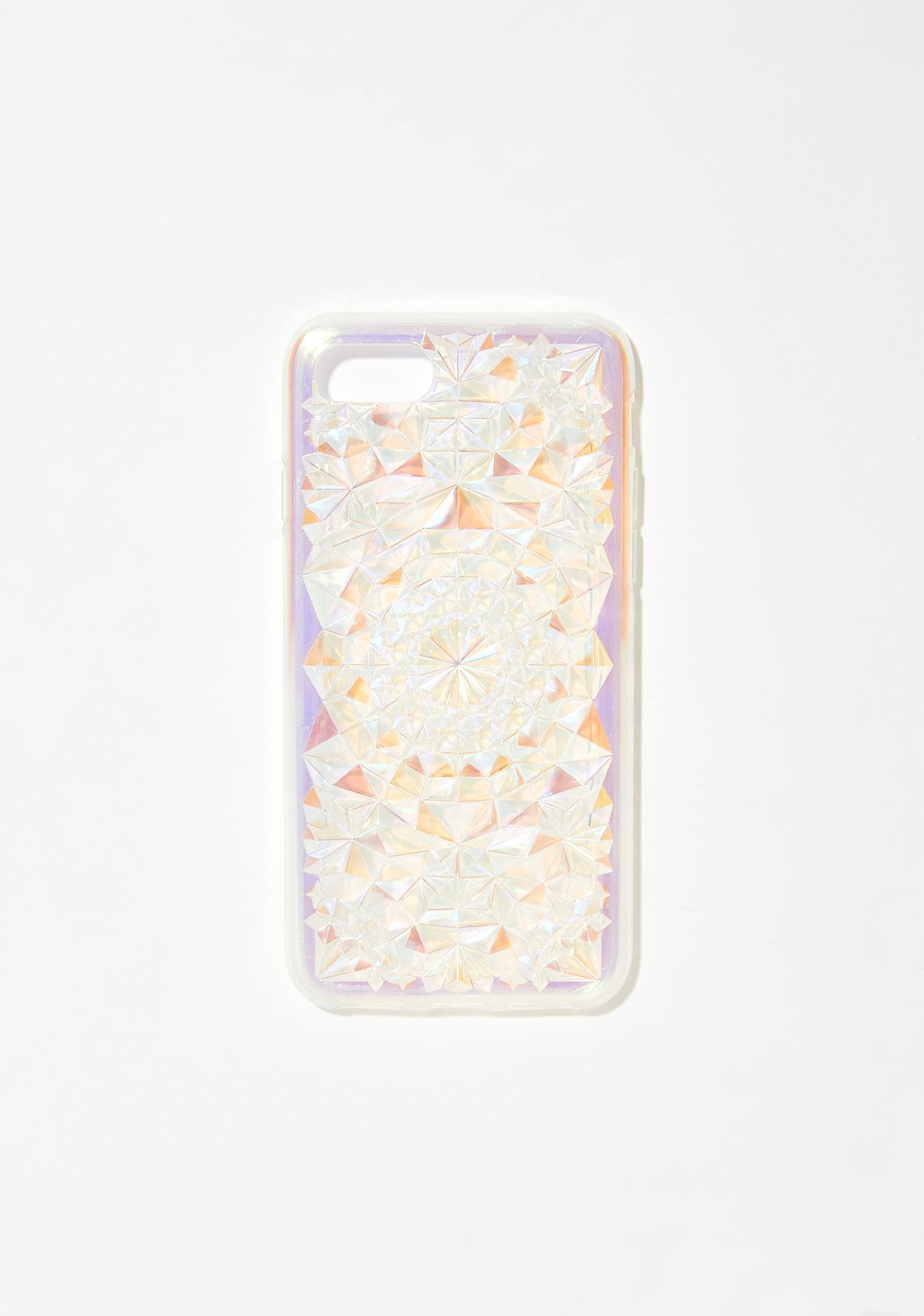 Felony Case Clearly Cosmic Kaleidoscope iPhone Case