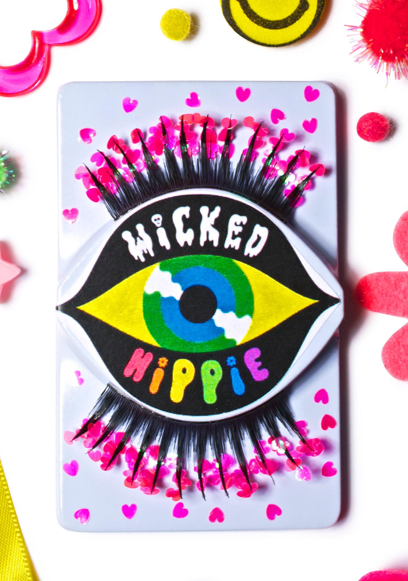 Wicked Hippie Eye Heart False Eyelashes