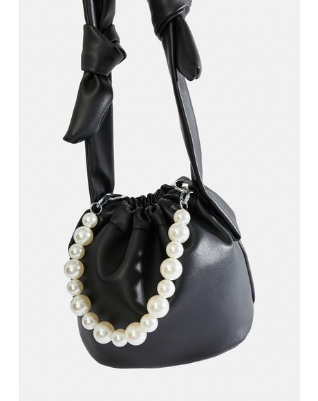Noir Oh So Unconventional Bucket Bag